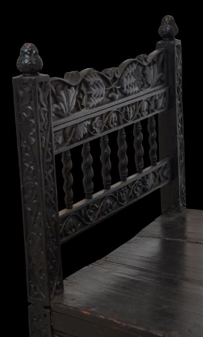 Colonial Batavian Sri Lankan Chair Michael Backman Ltd