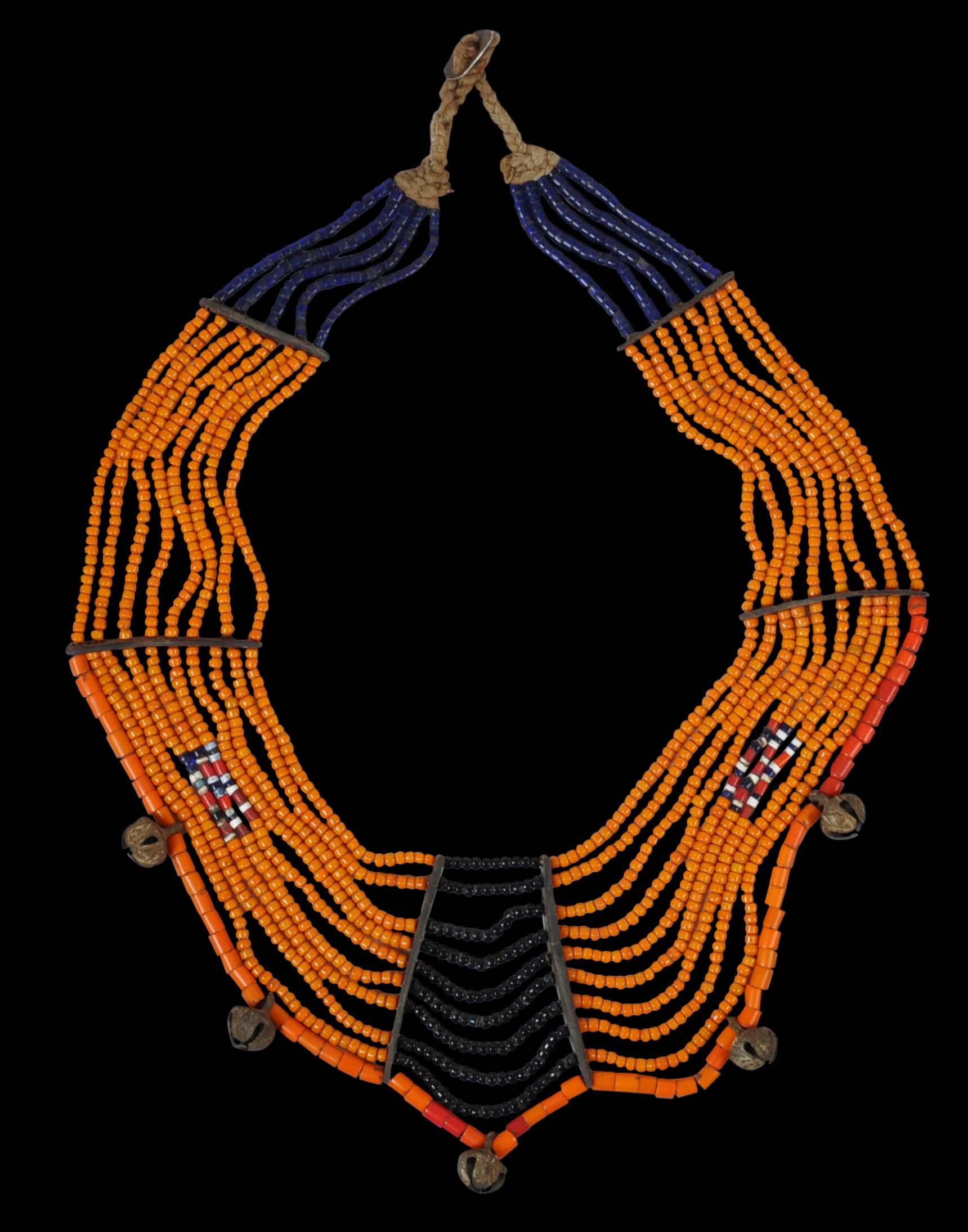 Konyak Naga Trade Bead Necklace - Michael Backman Ltd